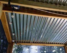DIY screen porch with screen recommendation #outdoordiyideas