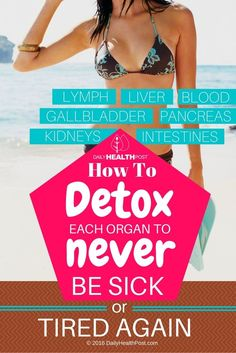 Over time, poor diet, inactivity and stress can lead to clogged organs and thick fluid.    That's why it's important to detoxify your body at least once a year to reset your system.