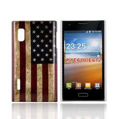 StoryLine (US Flagg) LG Optimus L5 Deksel