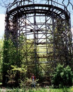 One of the best-known and most often photographed abandoned theme parks in the US is Chippewa Lake Park in Medina County, Ohio.