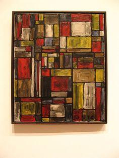Joaquín Torres-García, Color Structure, 1930 [dialogue w/ Mondrian]