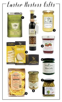 Easter Hostess Gifts from The Savory Pantry | SavoryPantryBlog.com
