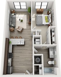 Floor Plans Archives - Main and Stone House Floor Design, Sims House Design, Home Design Floor Plans, Home Building Design, Small Apartment Layout, Tiny House Layout, House Layout Plans, House Layouts, Sims House Plans