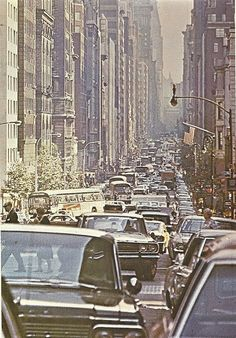 70's in the city - here in 1978! Wow. the car's sure have changed.