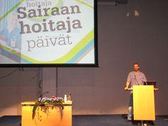 Guest speaker on The Finnish Nurses Association´s Congress in Helsinki Exhibition & Convention Centre — at Helsinki, Finland.