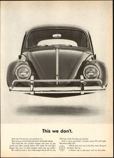 VW Beetle - Think Small