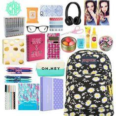School survival kits, school kit, school bags, diy school, back t