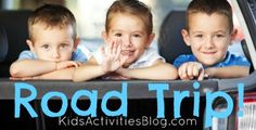40 tips for going on road trips with toddlers and preschoolers. These are so great for going on a road trip with little kids..