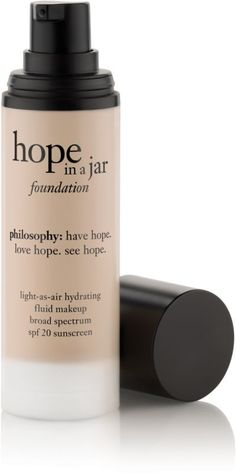 Philosophy Hope In A Jar Foundation Broad Spectrum SPF 20 #3 Fair/Light Ulta.com - Cosmetics, Fragrance, Salon and Beauty Gifts