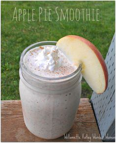Apple Pie Smoothie Recipe...this doesn't just taste good, it's really good for you too!