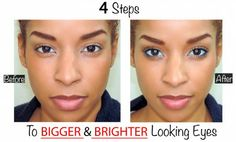 Beauty by Lee - 4 steps to bigger-brighter eyes. Beauty Secrets, Beauty Hacks, Beauty Ideas, Beauty Products, Beauty By Lee, Beauty 101, How To Feel Beautiful, How To Look Pretty, True Beauty Is Internal