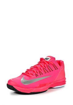 Кроссовки Nike / Найк мужские. Цвет: красный, розовый. Материал: полимер, текстиль. Сезон: Весна-лето 2014. С бесплатной доставкой и примеркой на Lamoda. http://j.mp/1nBMLTe