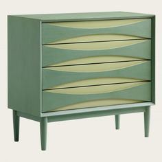mid century chest - I had one that I painted two tones of pink. Very similar. I sold it to a friend, and I'm glad she has it.