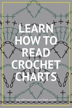 Embroidery Stitches Tutorial, Crochet Stitches Patterns, Crochet Chart, Crochet Basics, Crochet For Beginners, Free Crochet, Knitting Patterns, Knit Crochet, Beginner Crochet Patterns