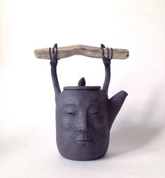 Best Indoor Garden Ideas for 2020 - Modern Ceramic Teapots, Ceramic Pottery, Pottery Art, Ceramic Art, Farmhouse Shutters, Rustic Shutters, Repurposed Shutters, Diy Shutters, Shabby Chic Decor