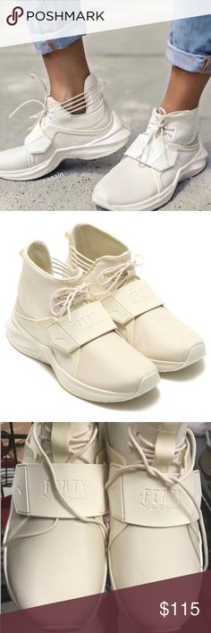 NWOB Puma FENTY in off white Never worn ! New without box! Super comfortable and stylish!  Leather upper  More actual pictures will follow Puma Shoes Sneakers