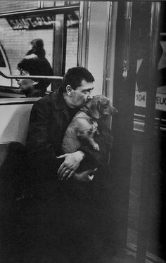 Paris Métro on a Sunday morning, 1980. Photo by Peter Turnley.