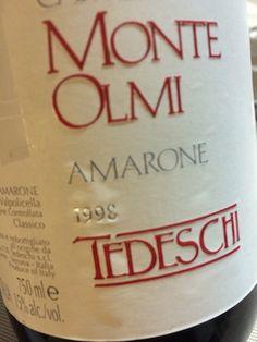 Monte Olmi #amarone 1998 #valpolicella