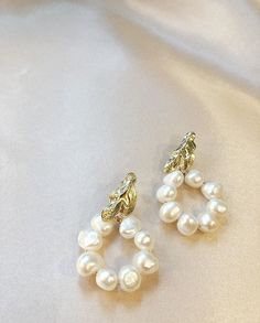 """@empejewelry on Instagram: """"Today's choice✨Perfect for the party season #empejewelry#custom#culturedpearls"""" Pearl Earrings, Brooch, Seasons, Pearls, Instagram, Jewelry, Brooch Pin, Pearl Studs, Jewlery"""