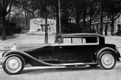 Bugatti Type 41 Royale Saloon body by Kellner, 1932 Retro Cars, Vintage Cars, Antique Cars, 1920s Car, 1930s, Bugatti Cars, Lamborghini, Tricycle, Bugatti Royale