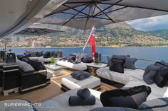 Silver Angel Yacht Photos - Benetti motor yacht