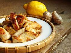 pollo allo zenzero e limone -