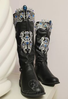 Princess Alyndra Elora Moonflower Boots by Firefly-Path
