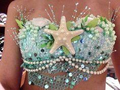 DIY Mermaid top!
