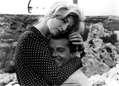 L'avventura, 1960 Monica Vitti e Gabriele Ferzetti, regia di Michelangelo Antonioni © Everett Collection