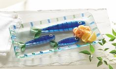 Features: -Glass pieces are individually cut and placed by hand to create icons or designs. -Hand washing is recommended. -Santorini collection. Product Type: -Platter. Color: -blue; white. Mate