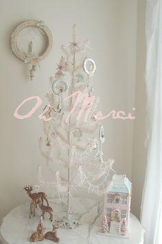 Christmas tree, Christmas Tree!!! Bebe'!!! Love this sweet French Pink Christmas  Tree!!!