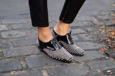 Bedazzled Loafers....jazzy!