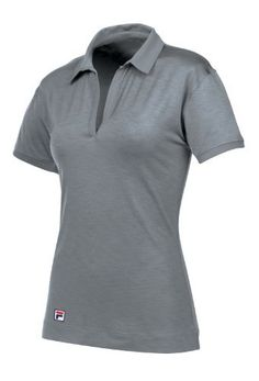 Fila Golf Women's Dresden Striped Polo Shirt Fila. $40.00. Bangladesh. Polo is made with recycled polyester. Moisture Wicking fabrics that dry very rapidly, keeping you cool, dry, and comfortable during any activity. Keep away from fire / machine wash in cold water / do not use chlorine bleach / do not use softeners / tumble dry low / warm iron / do not dry clean / wash dark colors separately. Stripes: 100% Polyester Drop Needle Stripe Solid: 92% Recycled Poly ...