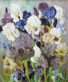 97 giclee fine art print of watercolor iris no