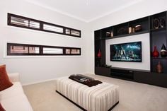 Monaco | McDonald Jones Homes | Home Theatre