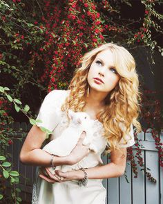 Taylor with bunny