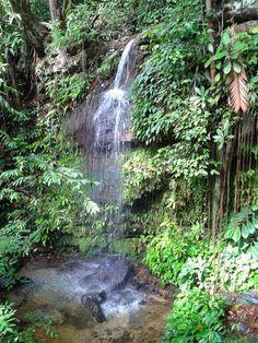 Waterfalls, Sarawak Cultural Village, Kuching, Malaysia