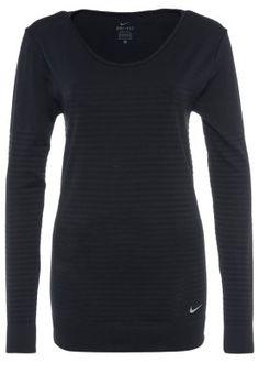 Sportkleding Nike Performance KNIT EPIC CREW - Longsleeve - black/cool grey Zwart: € 69,95 Bij Zalando (op 13-3-15). Gratis bezorging & retournering, snelle levering en veilig betalen!