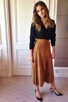Emma Watson Ups Her Red Carpet Game  - HarpersBAZAAR.com