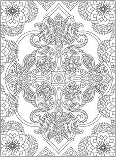 Scandinavian Coloring Book Pg 46