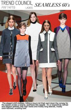 Women's fashion trend forecast: Fall-Winter themes from . Winter Trends, Fall Winter 2014, Autumn Winter Fashion, Spring 2015, Trend Forecasting, Fashion Forecasting, 2014 Trends, 60s Fashion Trends, Outfits Otoño