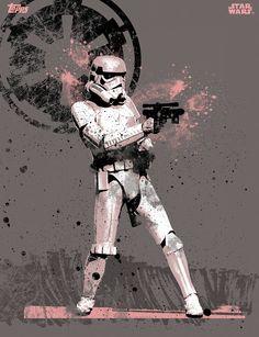 SWCT - Street Art 2: Stormtrooper #starwars #starwarscardtrader #cardtrader #tradingcard #streetart2 #stormtrooper