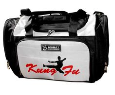 Sac de sport KUNG FU noir by DOUBLE Y