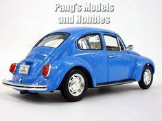 Volkswagen (VW) Beetle 1/24 Diecast Metal Model by Welly