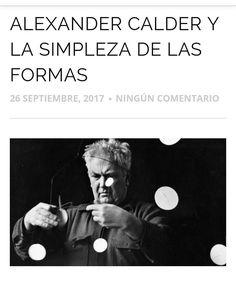 Alexander Calder es uno de los artistas más rentables y aclamados por los coleccionistas a nivel mundial. Hoy os hablamos de él en el blog de cómo introdujo el movimiento a un campo artístico tan macizo y potente como es la escultura: http://ift.tt/2fOav8s