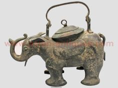 Product Details Year: 1800's Material: Brass This collectable Brass Elephant Tea Pot is orginally from India. A unique and collectable pc. The ears are moveable and can move up and down. Available  at Eastwind Asian Antiques in Old Town Spring, Texas