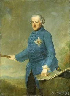 Johann Georg Ziesenis - Frederick II the Great of Prussia, c.1770