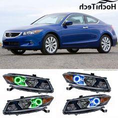 31.24$  Buy now - https://alitems.com/g/1e8d114494b01f4c715516525dc3e8/?i=5&ulp=https%3A%2F%2Fwww.aliexpress.com%2Fitem%2Ffor-Honda-Accord-Coupe-2008-2009-2010-LED-perimeter-headlight-rings-halo-Multi-color-RGB-angel%2F32744346391.html - for Honda Accord Coupe 2008 2009 2010 LED perimeter headlight rings halo Multi-color RGB angel demon eyes