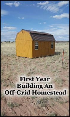Given the situation I was in, I decided it was time to finally pursue the dream I had as a teenager. It may not be in Alaska but I found a 40 acre lot I could afford and start my homestead. The onl…