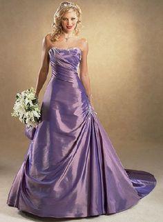 lavender wedding dress+++